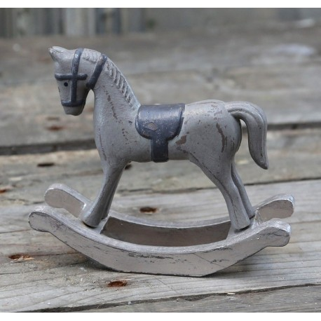 Konik Na Biegunach Chic Antique 3