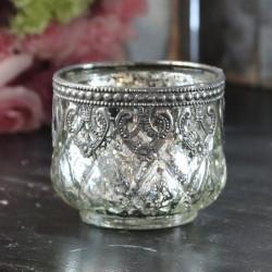 Srebrny Świecznik Na Tealight Chic Antique 3
