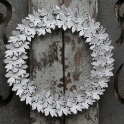 Wreath (X16) w. flowers