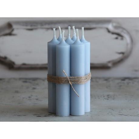 Niebieska Świeczka Chic Antique