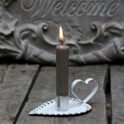 Świecznik Chic Antique Serce 3