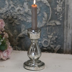Srebrny Świecznik Chic Antique 1