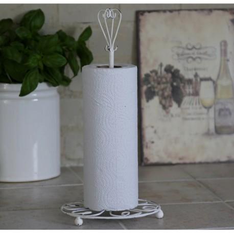 Kitchen roll holder fil de fer