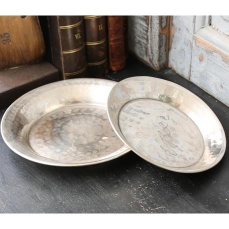 Plate brass D13 cm