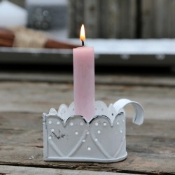 Świecznik Chic Antique Serce 2