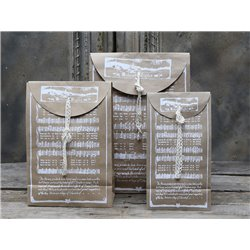 Gift bag (X15) w.Christmas song print