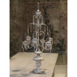 Duży Świecznik Stołowy Provence Chic