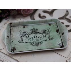 """Tray w.print """"Maison"""""""