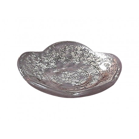 Glass tray powder D9,5 cm