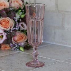 Kieliszek Do Szampana Chic Antique Różowy