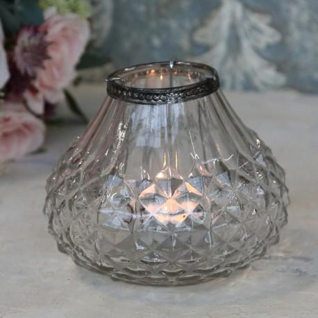 Szklany Lampion Chic Antique 1