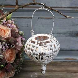 Lampion Wiszący Chic Antique Metalowy