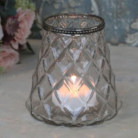 Szklany Lampion Chic Antique 3