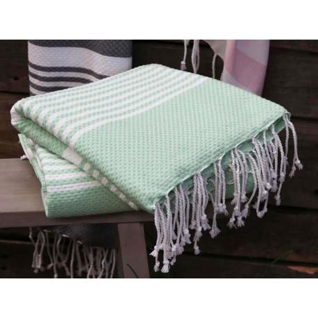 Duży Ręcznik Kąpielowy Chic Antique Zielony