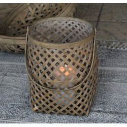 Lampion Rattanowy Chic Antique C
