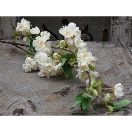 Sztuczne Kwiaty Jabłoń Chic Antique Białe