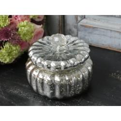 Pojemnik Pumpkin Antique Silver