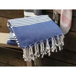 Duży Ręcznik Kąpielowy Chic Antique Niebieski