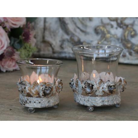 Świecznik Na Tealight Róże Mały