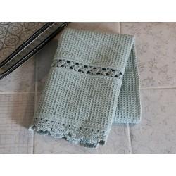 Ręcznik Kuchenny z Koronką