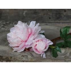 Kwiaty Sztuczne Piwonia Różowe