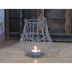 Metalowy Lampion Chic Antique