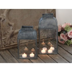 Lampion Metalowy Scandi Chic B
