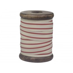 Old french post band w. red stripes