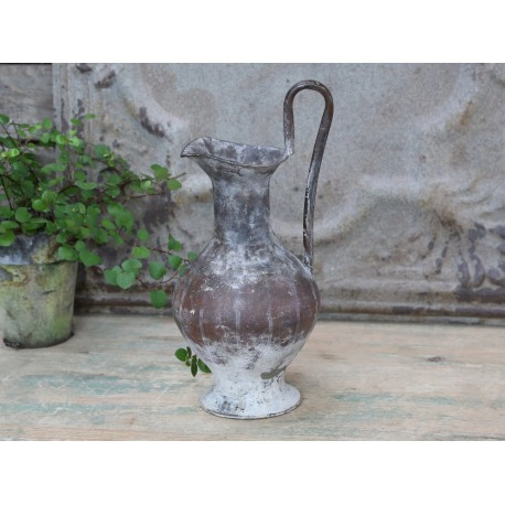 Old french jug antique mocca