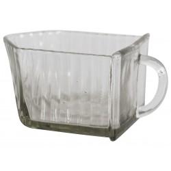 French glass drawer H6,5/W7/L12 cm