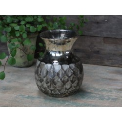 Vase w. pattern antique sand