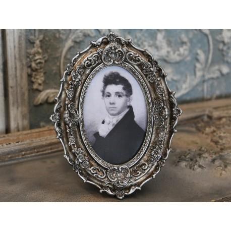 Ramka Na Zdjęcia Chic Antique Owalna 3