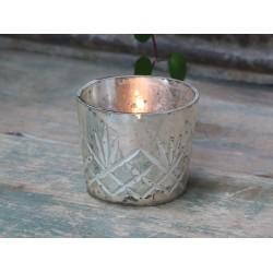 Srebrny Świecznik Na Tealight C