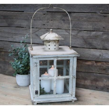Lampion Latarnia Chic Antique Duży