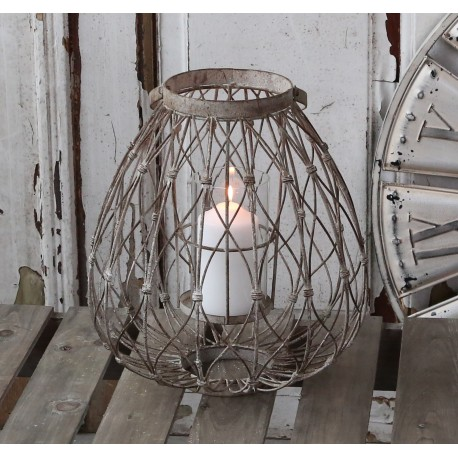 Lampion Metalowy Chic Antique