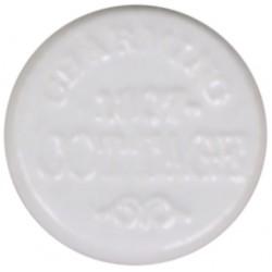 Biała Gałka Meblowa z Napisami