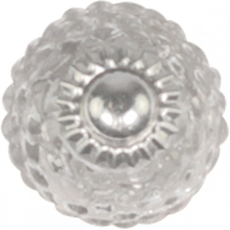 Knob glass w. check pattern