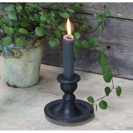 Candlestick w. pearl edge