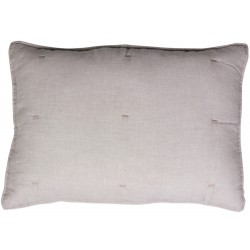 Cushion w. stitching linnen