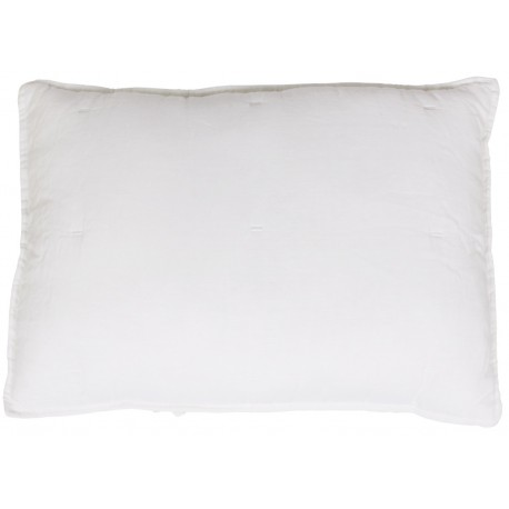 Cushion w. stitching offwhite