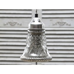 Lampa Chic Antique Srebrna