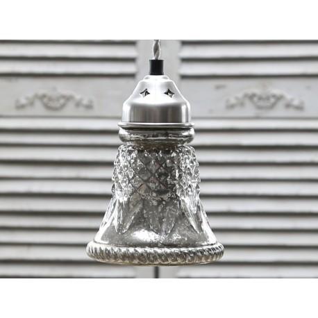 Lampa Chic Antique Srebrna