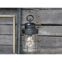 Lampa Industrialna Factory Szklana