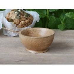 Miseczka Na Sól z Drewna Mango