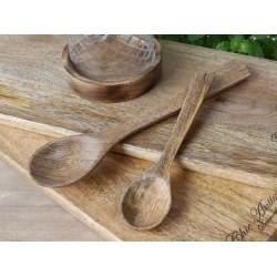 Łyżka z Drewna Mango Chic Antique 1B