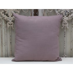 Pillow flax look dusty purple