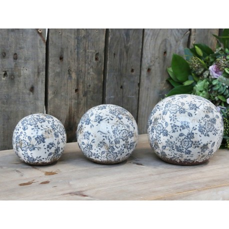 Melun Bauble w. french pattern