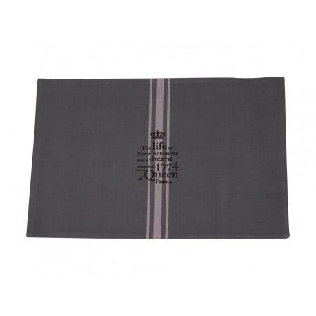 """Table mat w.print """"Marie Antoinette"""""""