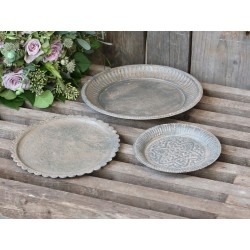 Dish w. pattern set of 3