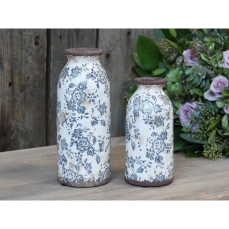 Melun Bottle w. french pattern